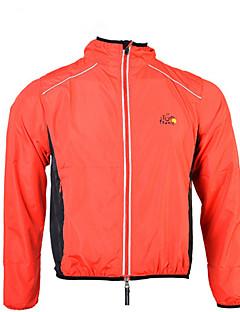 ספורטיבי חולצת ג'רסי לרכיבה יוניסקס שרוול ארוך אופניים עמיד למים / עמיד מעיל גשם פוליאסטר קלאסי קיץ רכיבה על אופניים/אופנייים