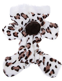 Dog Hoodie / Pajamas Brown / Pink Dog Clothes Winter / Spring/Fall Leopard Cute / Cosplay