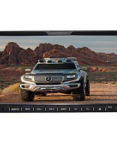 7-tommer 2 DIN TFT skærm in-dash bil dvd-afspiller med bluetooth, navigation læse gps, ipod-input, tv