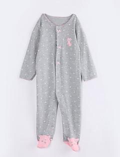 Baby Einzelteil Lässig/Alltäglich Punkte Baumwolle Herbst Lange Ärmel