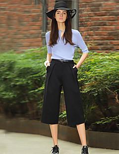 Damen Hose - Einfach Anzug Kunstseide / Nylon / Elasthan Mikro-elastisch