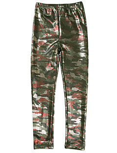 Toddler Girls Fall/Winter Thicken woollen Camouflage Leggings Pencil Pants Warm Trousers  for 3-10 yrs Children Kids