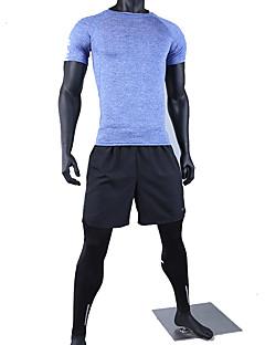 Ioga Conjuntos de Roupas/Ternos Respirável / Confortável Stretchy Wear Sports Homens-Esportivo,Ioga / Pilates / Exercicio e Fitness