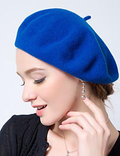 כובע כומתה (בארט) נשים וינטאג' / עבודה / יום יומי,צמר כל העונות