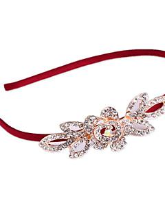 Women Gemstone & Crystal Hair Tie,Casual