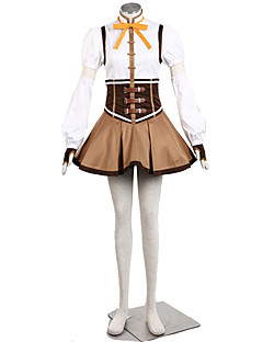 Inspirovaný Sailor Moon Cosplay Anime Cosplay kostýmy Cosplay šaty JednobarevnéVrchní deska / Sukně / Klobouk / Rukáv / Rukavice /