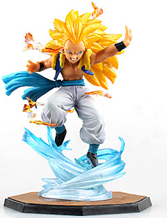 Anime Action Figures Inspireret af Dragon Ball Cosplay Anime Cosplay Tilbehør figur Gul PVC