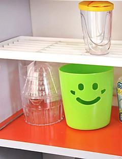 1 Cozinha Plástico Metal Prateleiras e Suportes