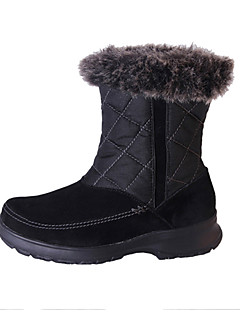 SUDN Women's Snow sports Mid-Calf Boots Winter Anti-Slip / Waterproof / Breathable Shoes Black / Brown