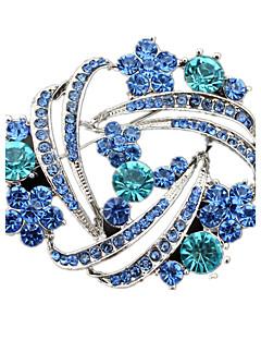 Žene Broševi Kristal kostim nakit Imitacija dijamanta Jewelry Za Vjenčanje Party Dnevno Kauzalni