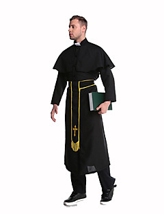 Costumi Cosplay Vestito da Serata Elegante Costumi di carriera Feste/vacanze Costumi Halloween Nero Con stampeCalzamaglia/Pigiama intero