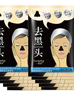 10st hyaluronzuur actieve kool neus mee-eter strip verwijderaar masker afschilferen zwarte kop afzuigen masker poriënreiniger