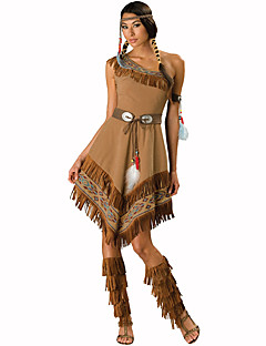 Indian Festival/Holiday Costumes Dress / Headwear Female Polyester
