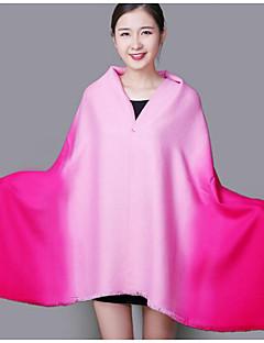 Damer Casual Kashmir Halstørklæde-Farveblok Rektangulær