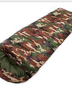 침낭 직사각형 침낭 싱글 10 중공 코튼 400g 180X30 하이킹 / 캠핑 / 여행 / 야외 / 실내 방수 / 호흡 능력 / 폴더 / 휴대용 AIMIKA