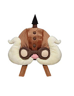 Inspired by LOL Eruru Video Game Cosplay Costumes Hat/Cap Solid Brown Cap