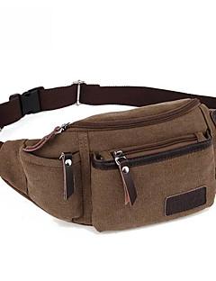 10 L Bolsa de cinto Vestível Preto / Outras / Verde Militar Lona