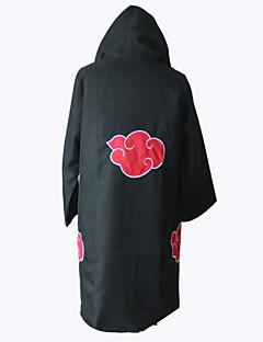 Inspirovaný Naruto Akatsuki Anime Cosplay kostýmy Cosplay Topy / Bottoms Tisk Czarny Dlouhé rukávy Přehoz