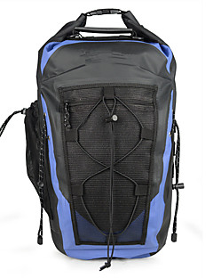 30 L Ryggsekk Pakker ryggsekk Vanntett ryggsekk Vanntett Anvendelig til Camping & Fjellvandring
