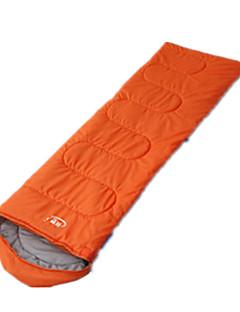 Saco de dormir Tipo Múmia Solteiro (L150 cm x C200 cm) 10 Penas de PatoX100 Campismo Viajar InteriorBem Ventilado Prova-de-Água Portátil