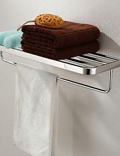 浴室棚 ステンレス ウォールマウント 600x 220 x 120mm (23.6 x 8.66 x 4.72 ステンレス モダン