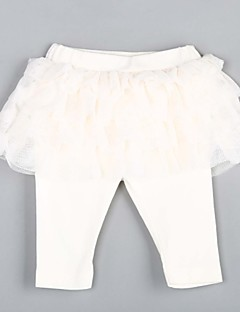 Baby Hose-Lässig/Alltäglich einfarbig Baumwolle Frühling / Herbst Weiß