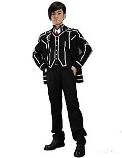 Inspirado por Vampire Knight Fantasias Anime Fantasias de Cosplay Ternos de Cosplay Cor Única Casaco Colete Camisa Calças Gravata Para