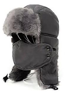 Chapka-lue Pelslue Ski Ansiktsmaske Hatt Herre Dame Hold Varm Snowboard Polyester Fleecegenser Ski Camping & Fjellvandring Snøsport Alpin