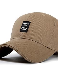 Chapéu Resistente Raios Ultravioleta Unissexo Basebal Verão Café Cinzento Preto Azul Verde Militar-Esportivo®