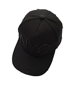Caps / Chapéu Confortável / Protecção Unissexo Esportes Relaxantes / Basebal Primavera / Verão Branco / Preto