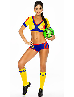 Cosplay Costumes Party Costume Career Costumes Cheerleader Costumes Festival/Holiday Halloween Costumes Red Yellow Blue SolidTop More