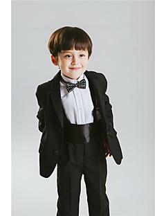 Bavlna Směs polyesteru a bavlny Oblek pro mládence - 6 Pieces Obsahuje sako Tričko Kalhoty pas Motýlek Suspensory