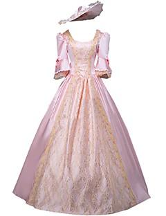 Et-Stykke/Kjoler Gotisk Lolita Klassisk og Traditionel Lolita Elegant Victoriansk Rokoko Prinsesse Vintage Inspireret CosplayLolita