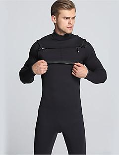 MYLEDI 男性用 3mm ドライスーツ フルウェットスーツ 防水 保温 フロントファスナー 耐久性 YKKジッパー 厚型 フルボディー ネオプレン ラバー 潜水服 ダイビングスーツ-水泳 潜水 サーフィン
