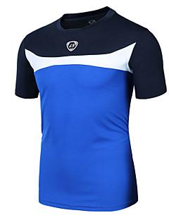 Esportivo Camisa para Ciclismo Homens Manga Curta MotoRespirável / Secagem Rápida / Resistente Raios Ultravioleta / Materiais Leves /