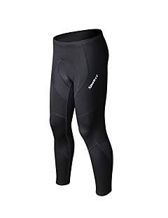 SPAKCT Cyklo kalhoty Pánské Jezdit na kole Cyklistické kalhoty Prodyšné Rychleschnoucí YKK Zipper 100% polyester Jednobarevné