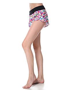 calças de yoga Shorts Respirável Secagem Rápida Compressão Tecido Ultra Leve Com Elástico Moda Esportiva Mulheres Yokaland®Ioga Pilates