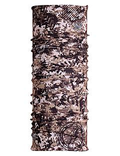 Halstücher Fahhrad Atmungsaktiv Rasche Trocknung Windundurchlässig Feuchtigkeitsdurchlässigkeit Unisex Tarnfarben Polyester