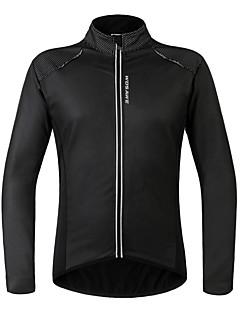 WOSAWE Unissexo Manga Comprida Moto Camisa/Roupas Para Esporte Jaqueta de InvernoProva-de-Água Térmico/Quente A Prova de Vento Forro de
