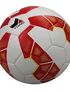 Høy Elastisitet Holdbar-Fotball(Hvit Rød,PU)