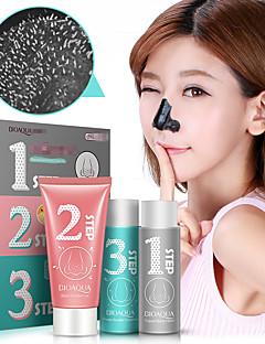 1set Mitesserentferner Maske Porereinigungsmittel Gesichts Essenz Flüssigkeit Gesicht Hautpflege-Set