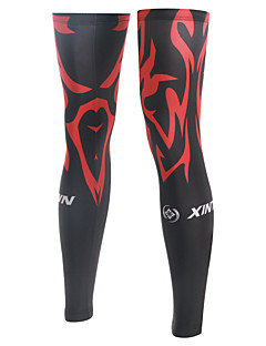 XINTOWN Men's and Women's Bike Bicycle Cycling Leg Warmers Running Sleeve Sun UV Protection Guard Knee S-3XL