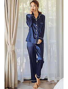 Women Satin Silk Ice Silk Pajama