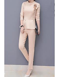 moderni puku naisen kevään 2017 uuden aallon naisten&# 39; s vyötärö oli laiha lyijykynä housut villi temperamentti pusero pala