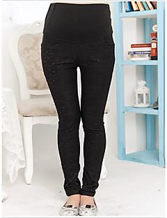 Femme Grossesse Slim Pantalon Extensible Sangle / Eté / Automne