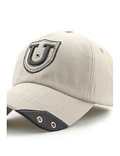unisex mode bomuld baseball cap sol hat mænd kvinder solid justerbar udendørs sport afslappet sommer alle årstider