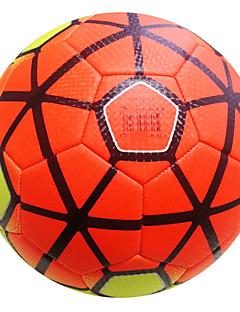 Høy Elastisitet Holdbar-Fotball(Gul Grønn Oransje,Lær)