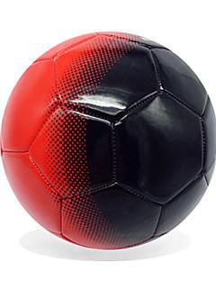 Soccers Piłka nożna-Wysoka elastyczność Trwały(Żółty Czerwony,PVC)