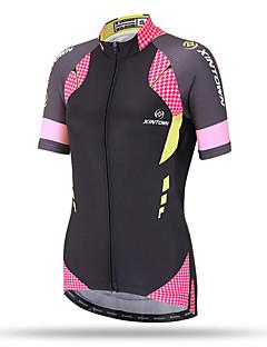 XINTOWN® Γυναικεία Κοντομάνικο Ποδήλατο Αναπνέει Γρήγορο Στέγνωμα Anti Transpirație Άνετο Πίσω τσέπη Μπολύζες ΤερυλίνηΆνοιξη Καλοκαίρι
