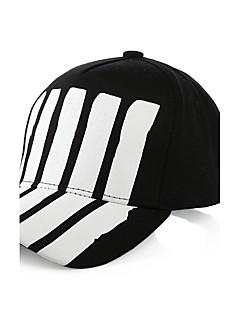 Unisex Fashion Cotton Sun Hat Baseball Cap Casual Holiday Summer Men Women All Seasons Black/Red
